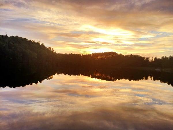 Mondeaux Flowage sunset