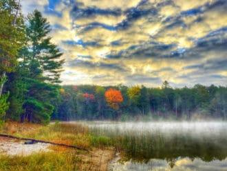 Byron Lake Huron National Forest