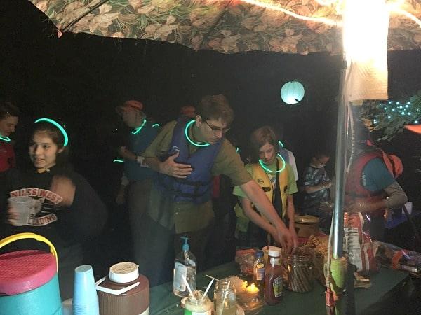 Skokie Lagoons campfire