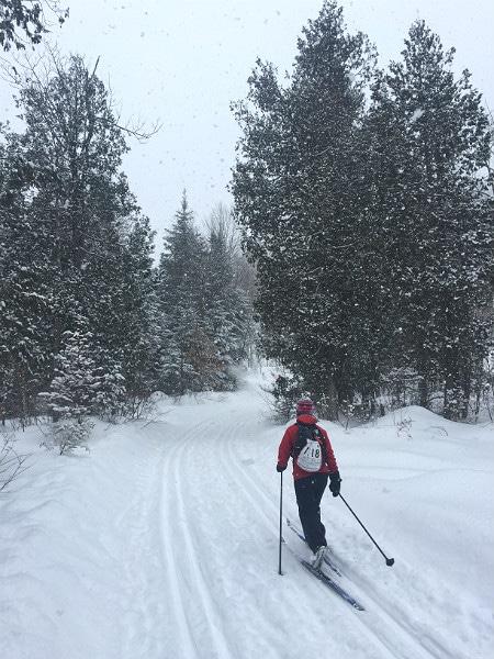 Canada Ski Marathon adventure