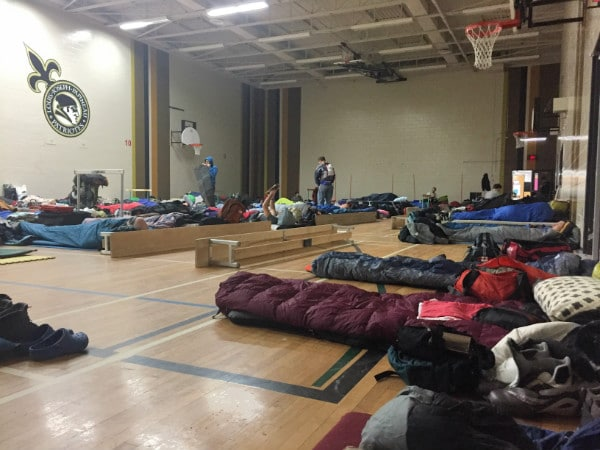 Canada Ski Marathon dormitory