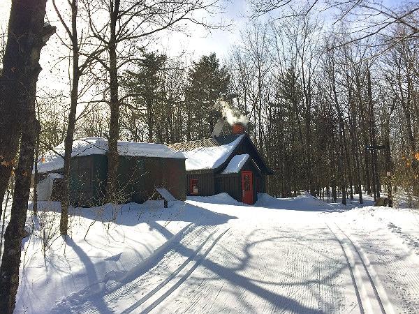 Gatineau Park warming hut