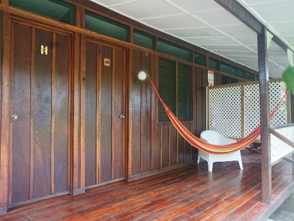 Mawamba Lodge hammock