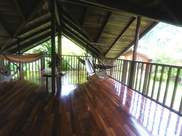 Osa Rainforest Rentals deck
