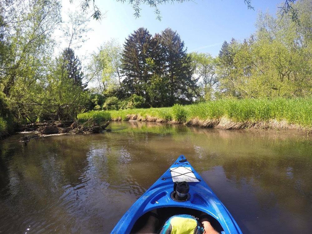 Kayaking Sugar River Wisconsin
