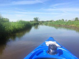 Sugar River kayaking Verona Wisconsin