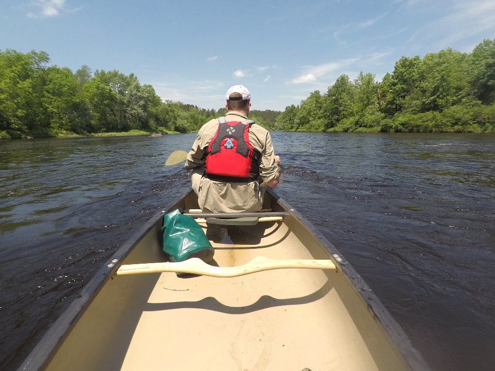 Flambeau River whitewater adventure