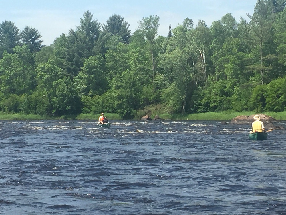 Flambeau River rapids