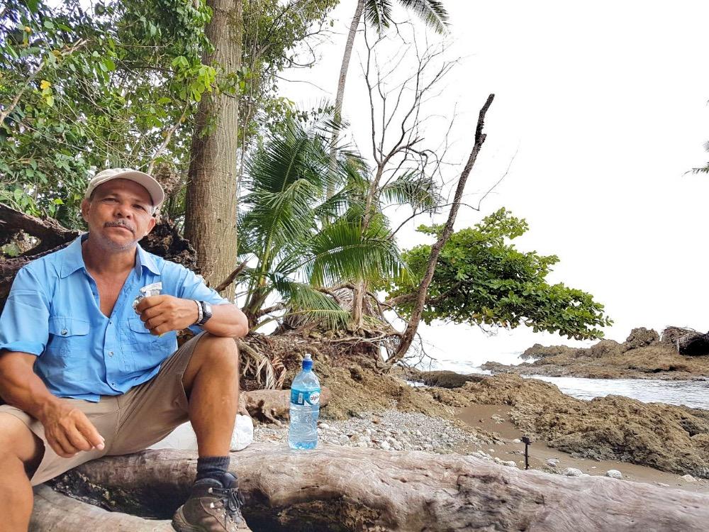 Surcos Tours guide Oscar