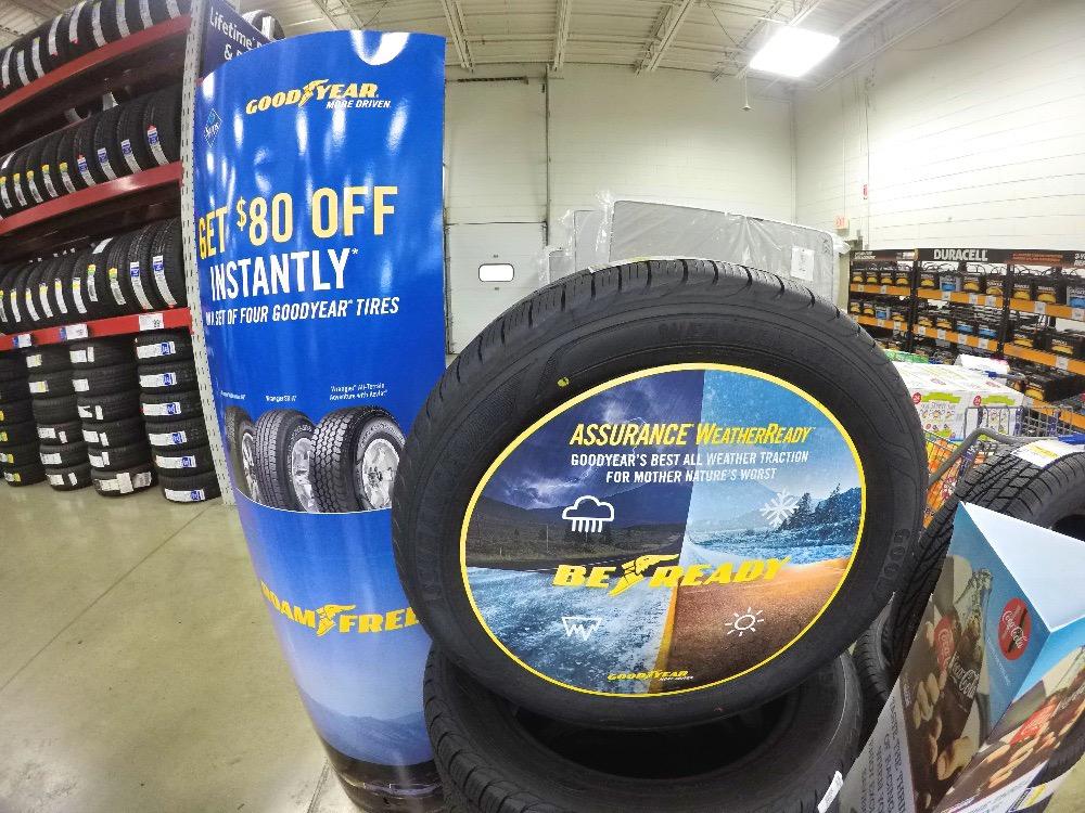Goodyear Assurance WeatherReady tires