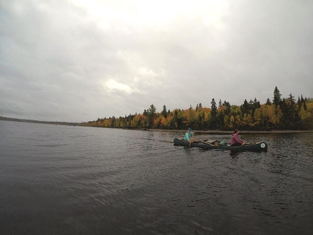 Allagash Canoe trips Lani Cochrane