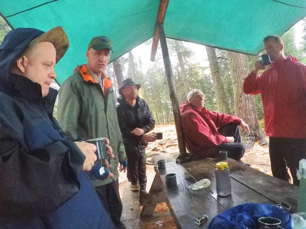 Allagash Wilderness Waterway camping