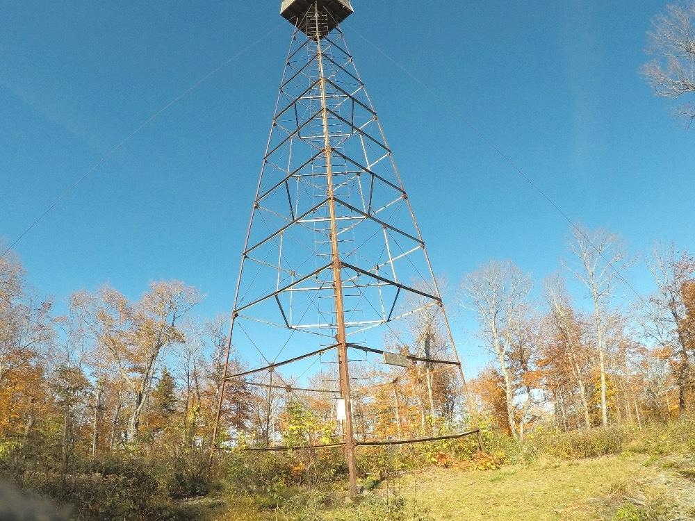 Maine Fire Tower hiking