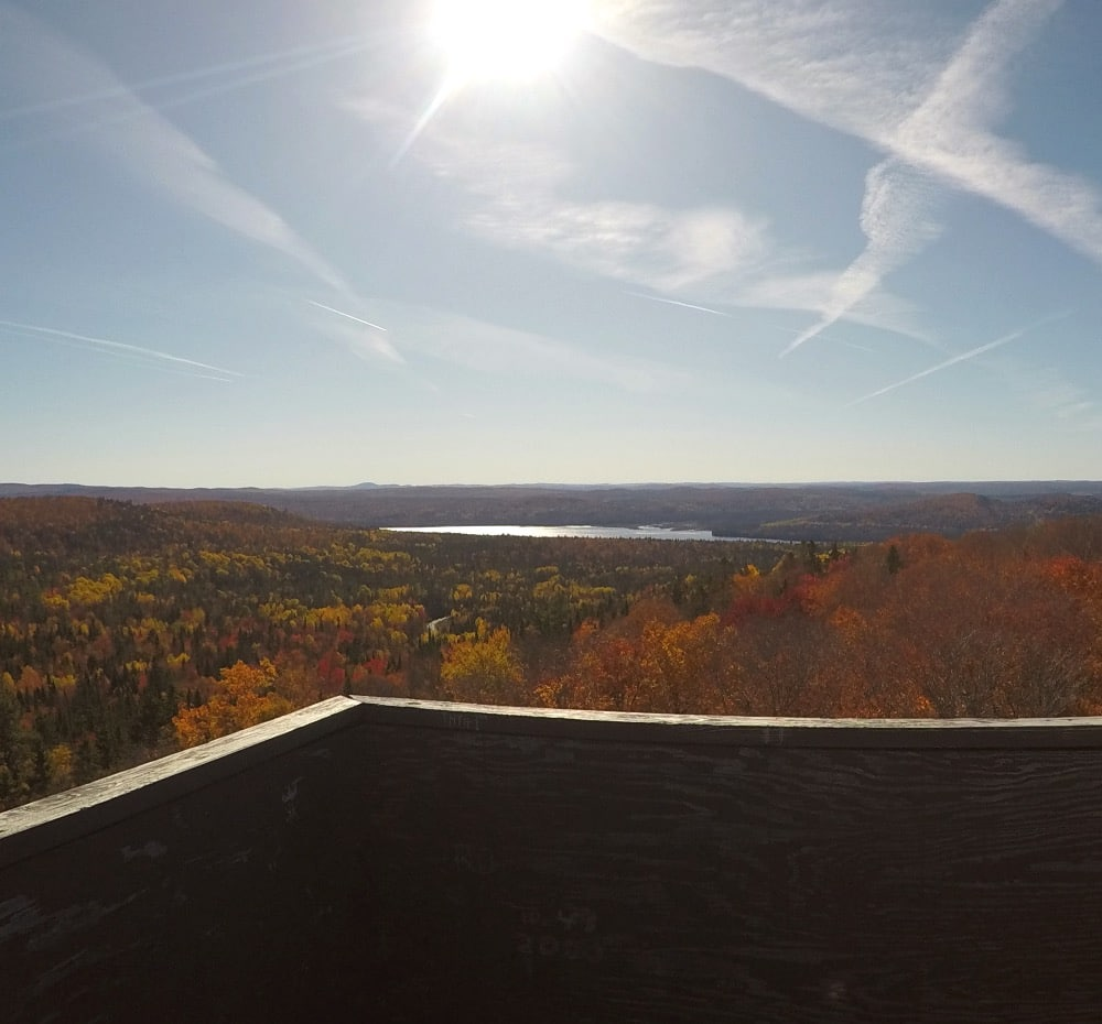 Fire Tower view Maine