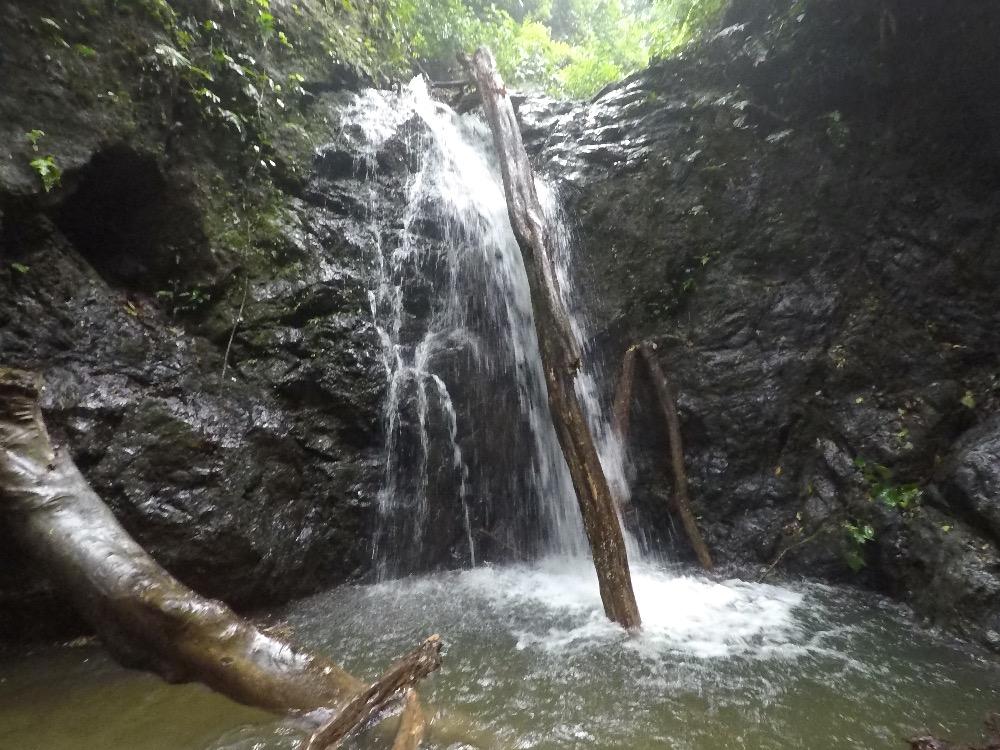 Bolita Hostel waterfall