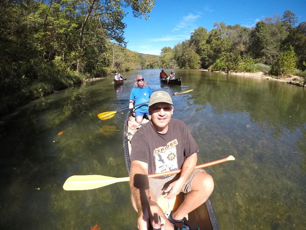 Jacks Fork River selfie