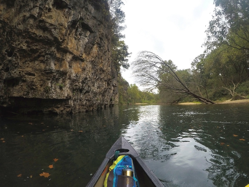 Current River bluff
