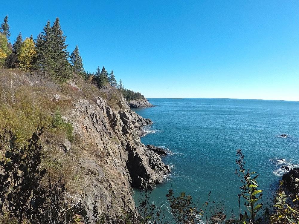 Backpacking Maine Coast