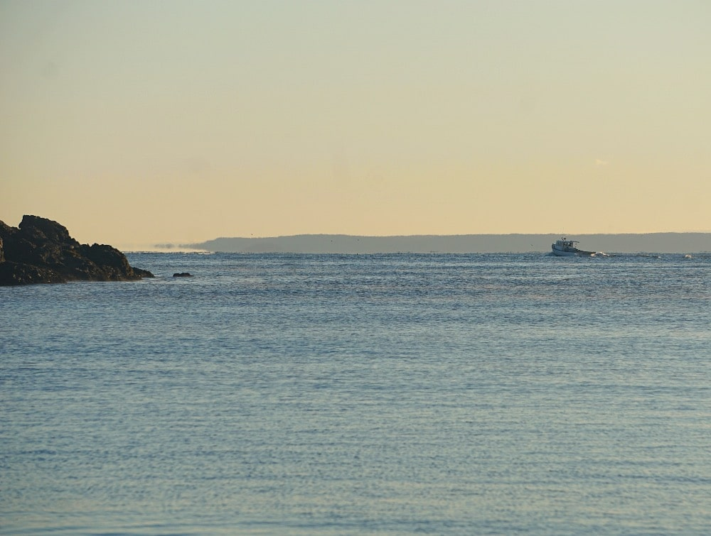 Boat Bold Coast Maine