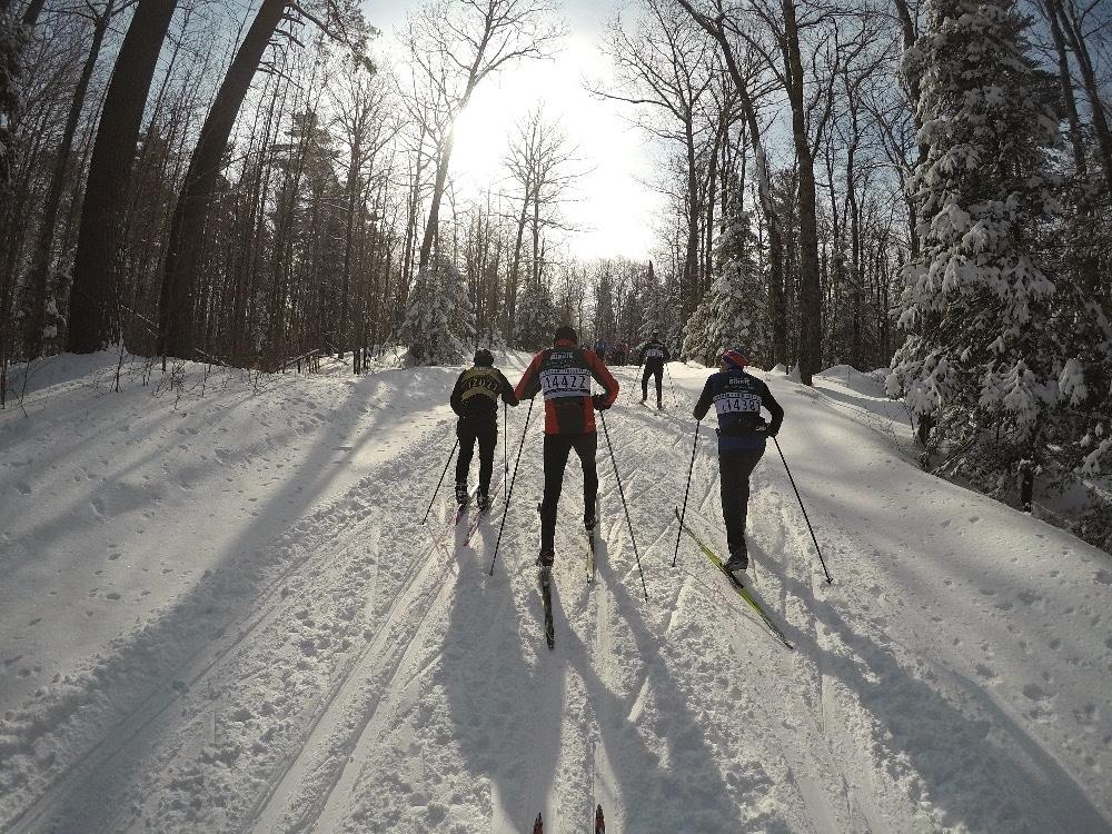 GoPro Nordic skiing