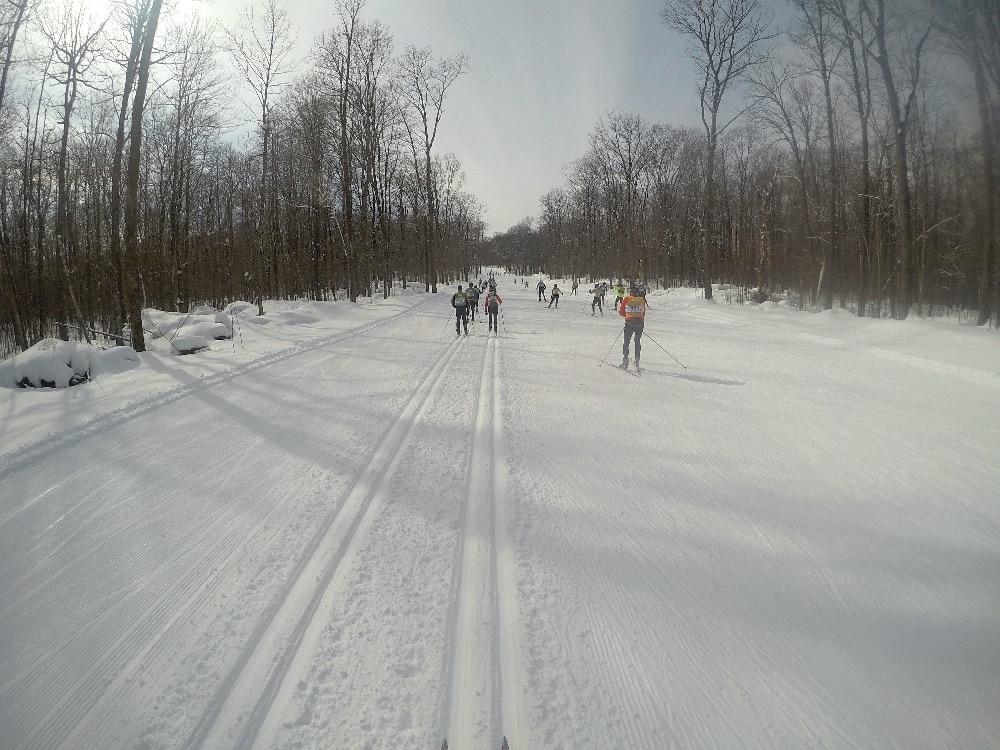 Hayward Wisconsin Nordic skiing