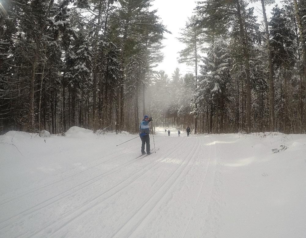 GoPro skiing