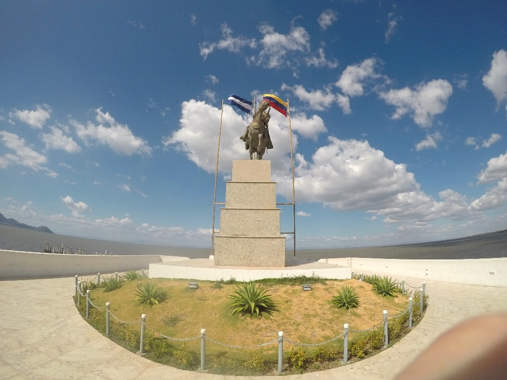 Managua lakefront