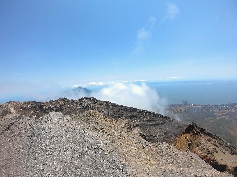 Concepción Volcano crater