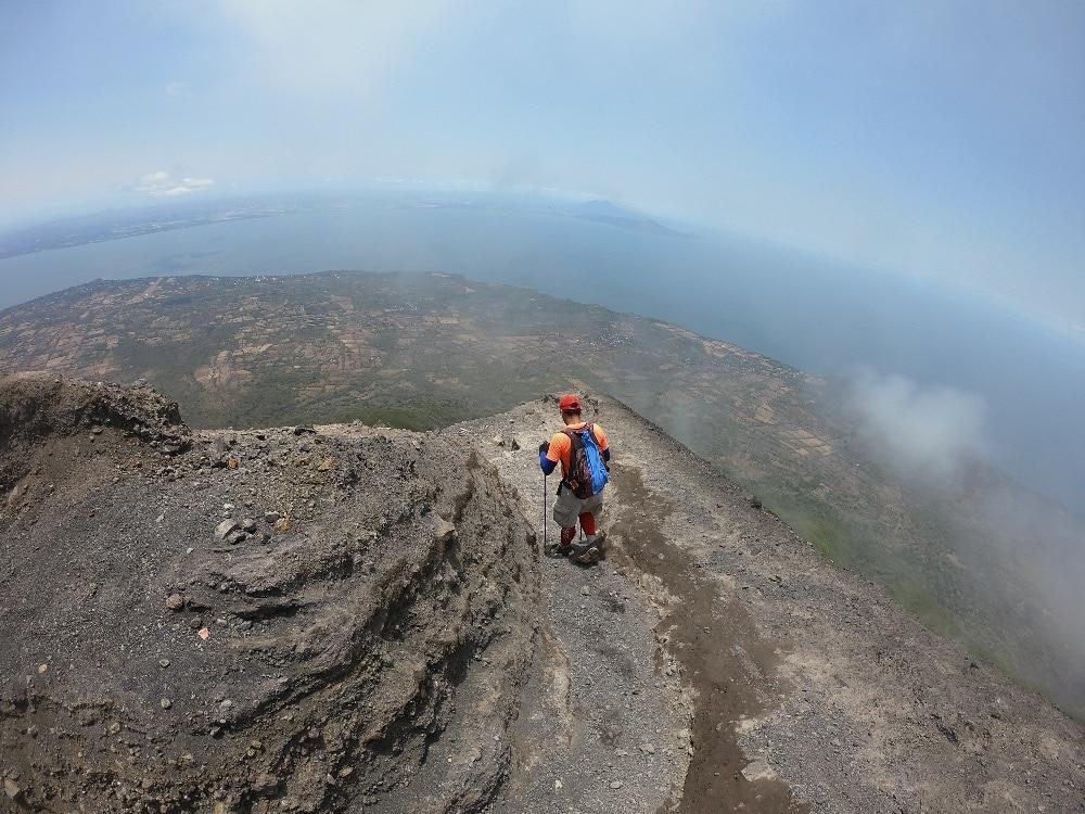 Concepción Volcano descent