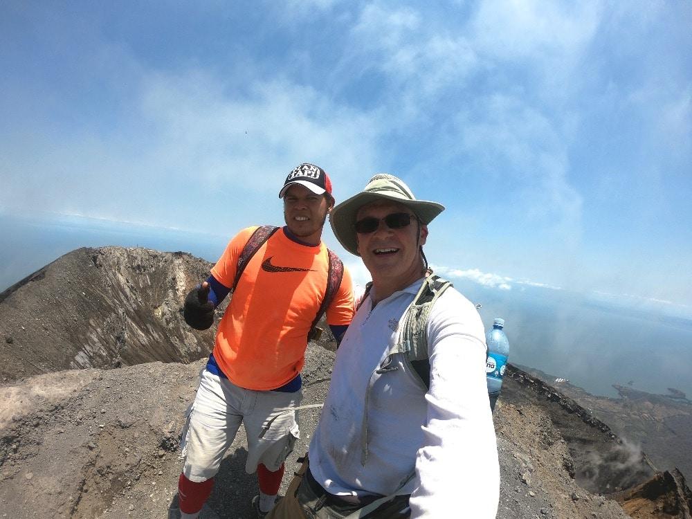Concepción Volcano Ometepe Island