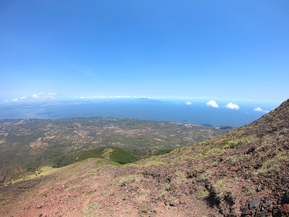 Concepción Volcano view