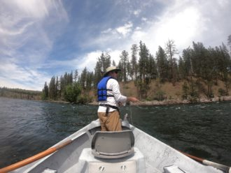 Spokane River fly fishing