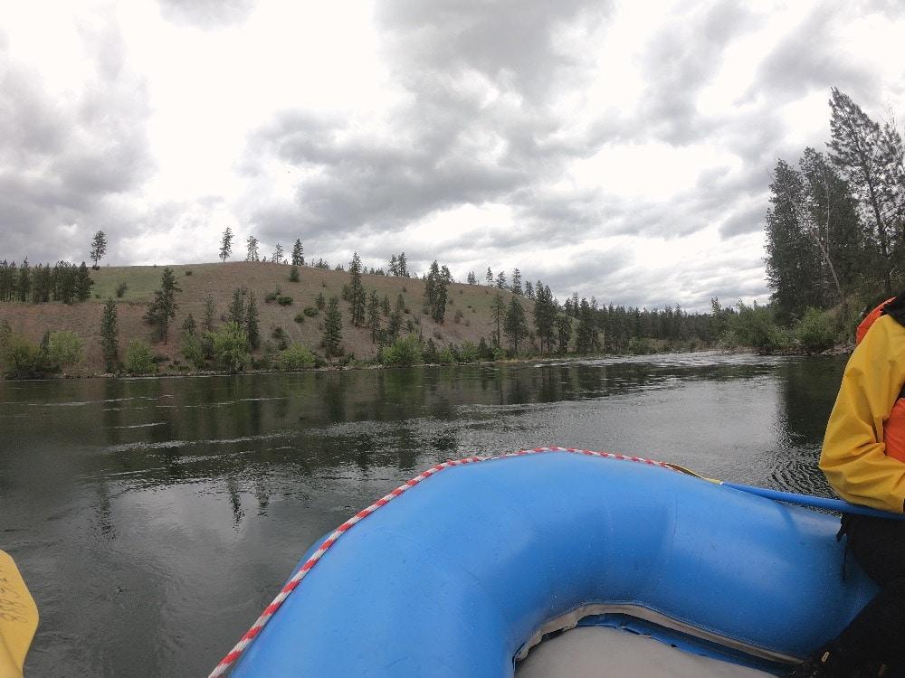 Spokane River scenery