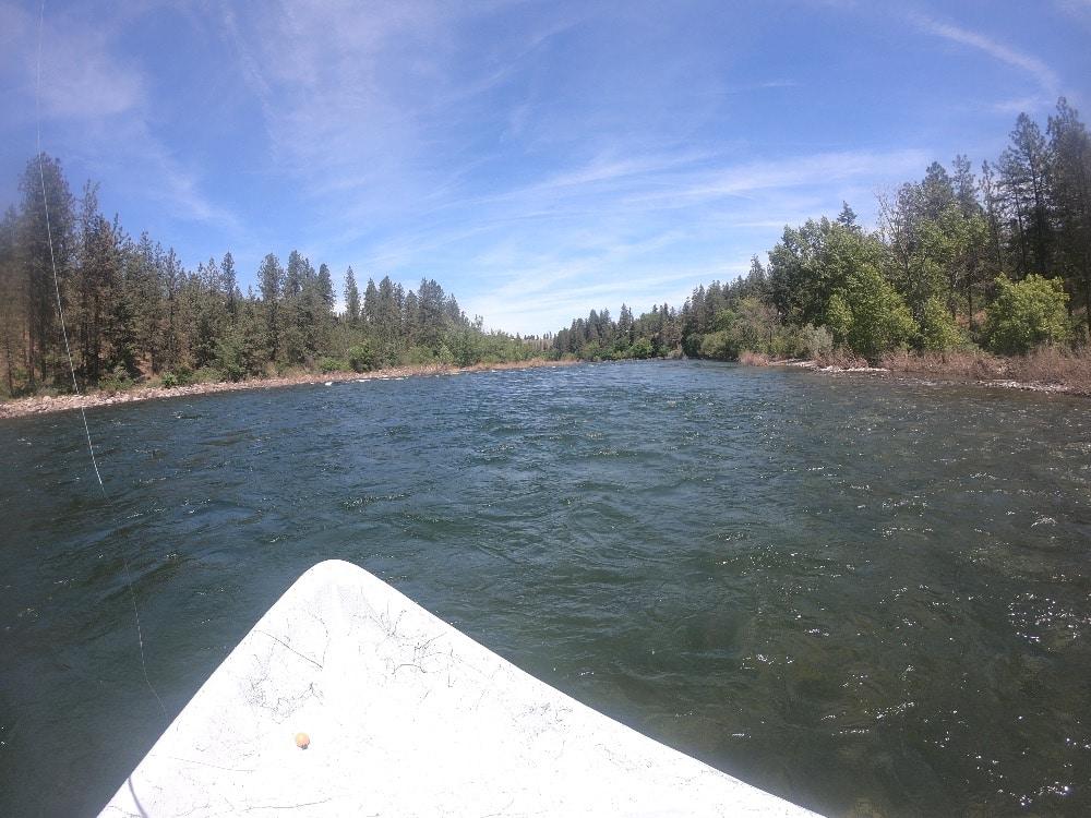 Fly fishing Washington
