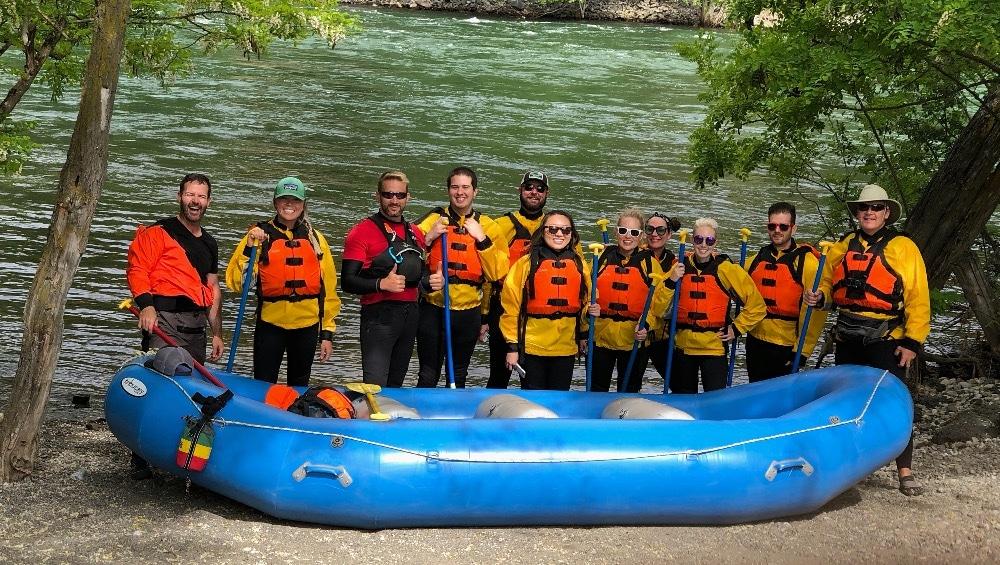 Spokane River whitewater rafting