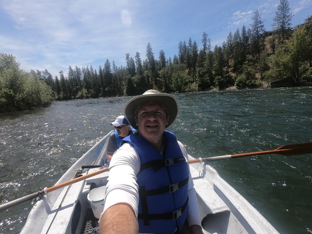 Spokane River fishing