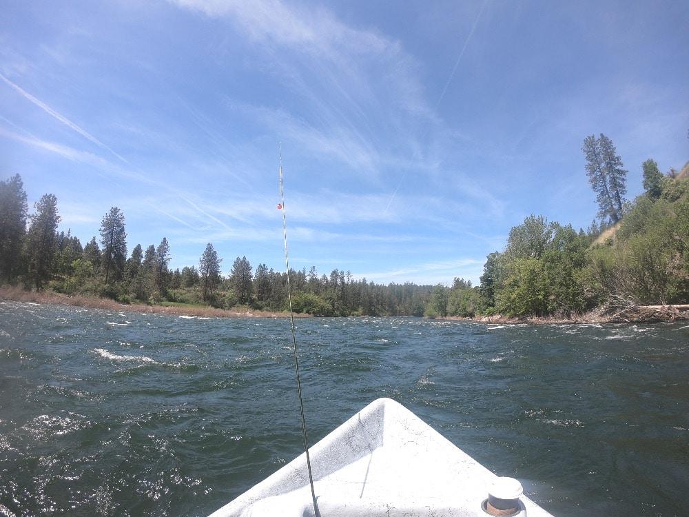Fly fishing Spokane