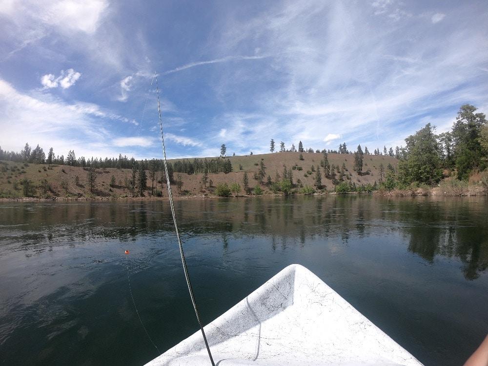 Spokane River fly fishing adventure