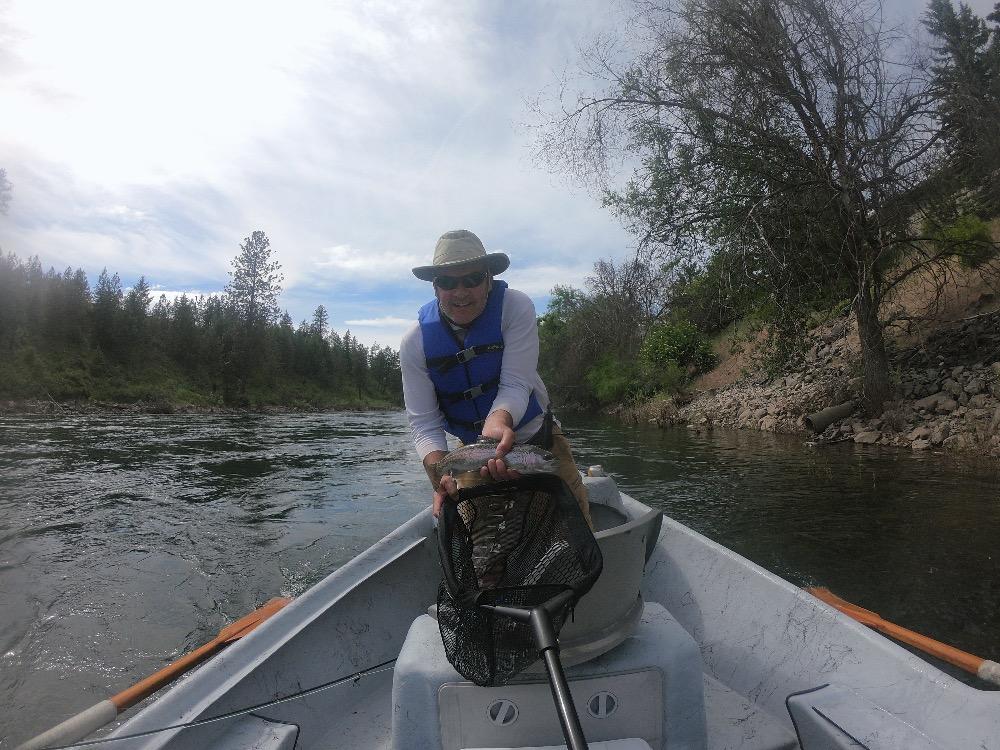 Success Spokane River fishing