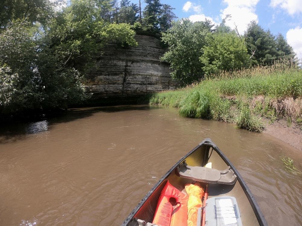 Pine River bluffs
