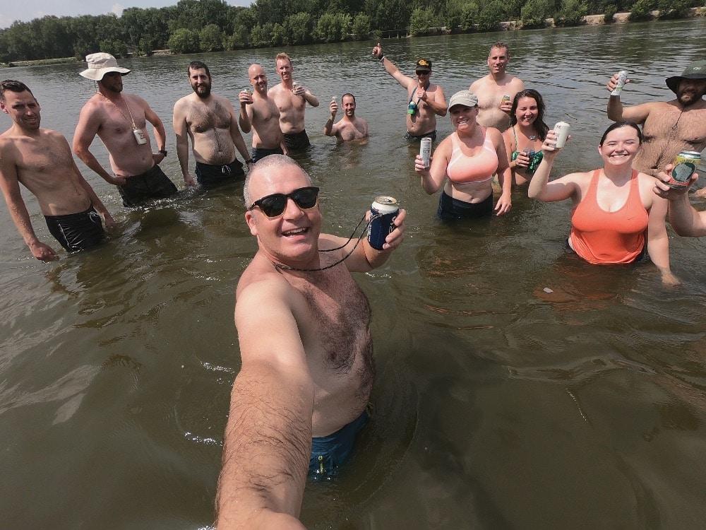 Wisconsin River fun