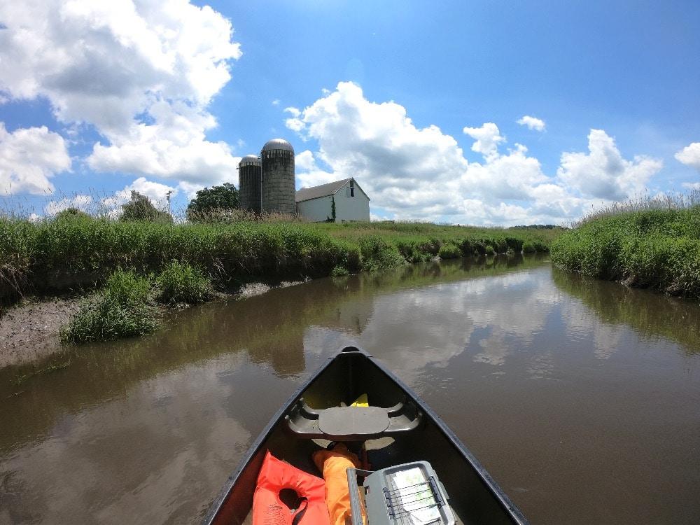 Pine River farmland