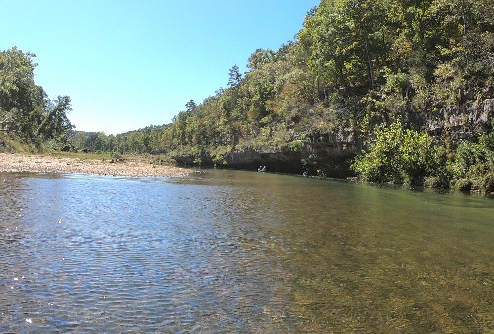 Missouri canoeing