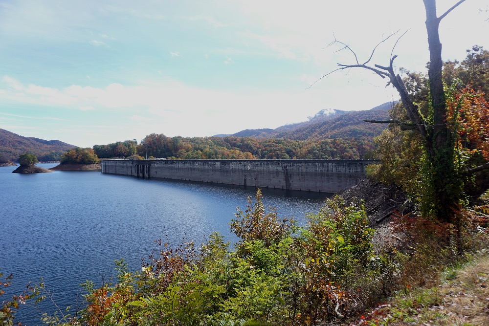 Fontana Dam Appalachian Trail