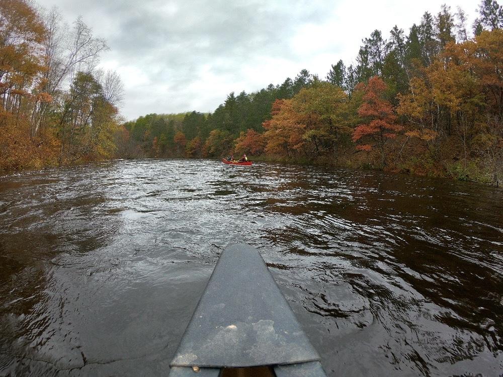 Namekagon River canoeing