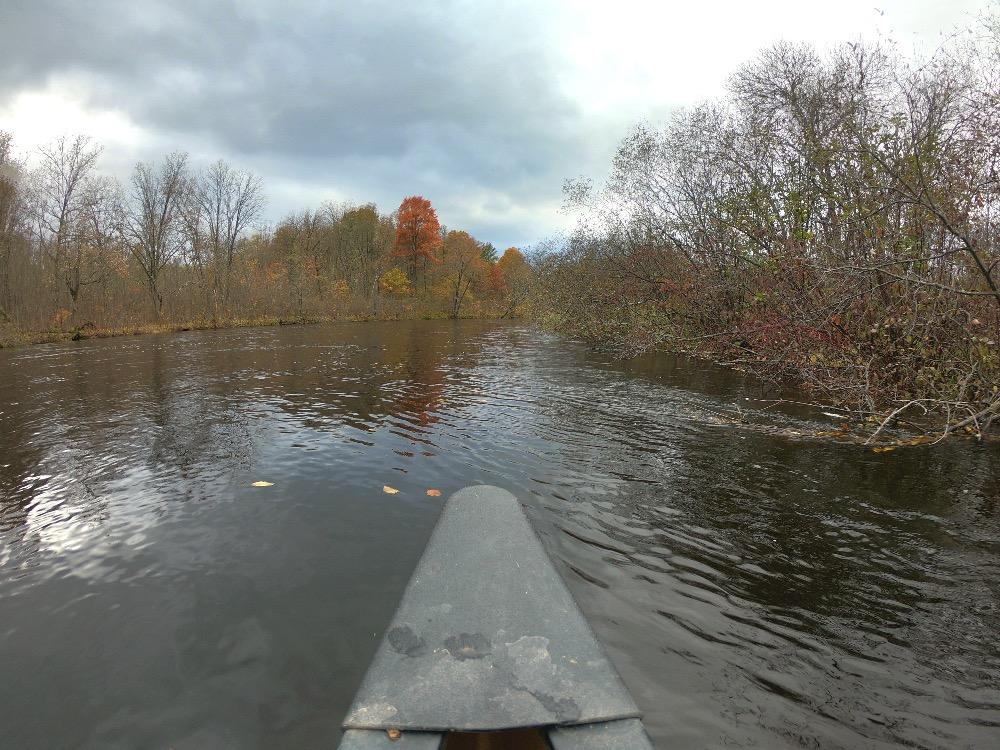 Namekagon River fall foliage