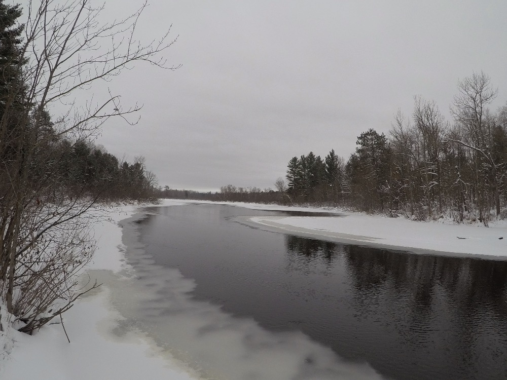 Namekagon River winter