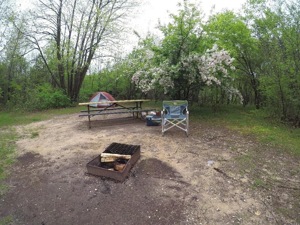 Ottawa Lake campground