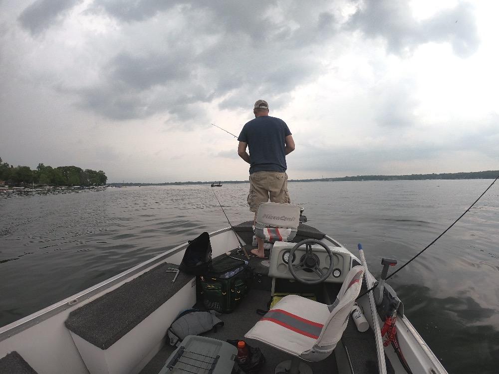Lake Delavan Wisconsin fishing