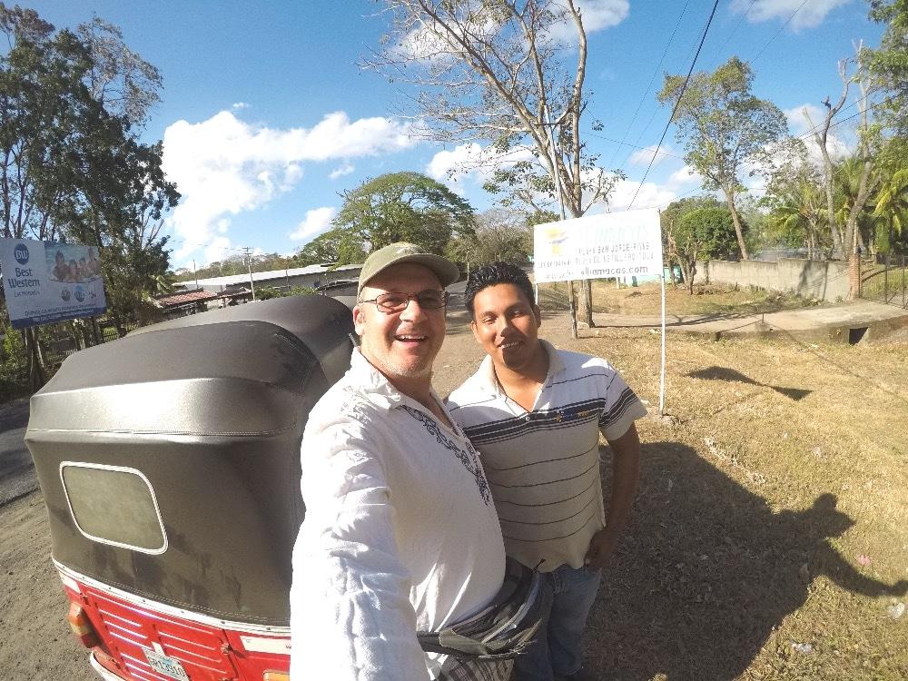Nicaragua tuk-tuk driver